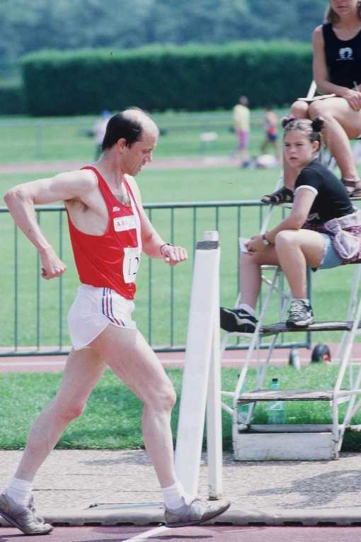 Dominique Guebey, the racewalker
